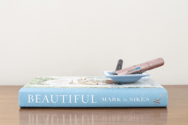 Beautiful book and makeup favorites