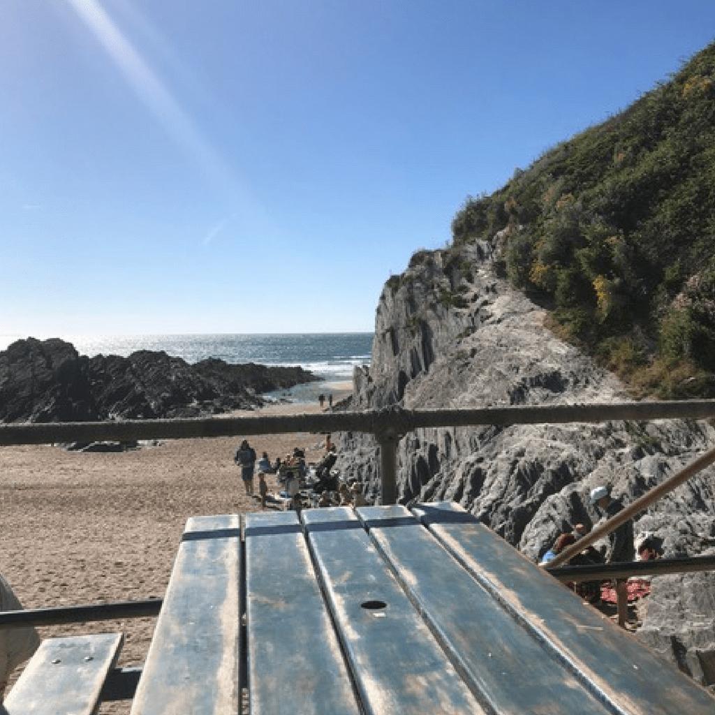 Curry on Barricane Beach