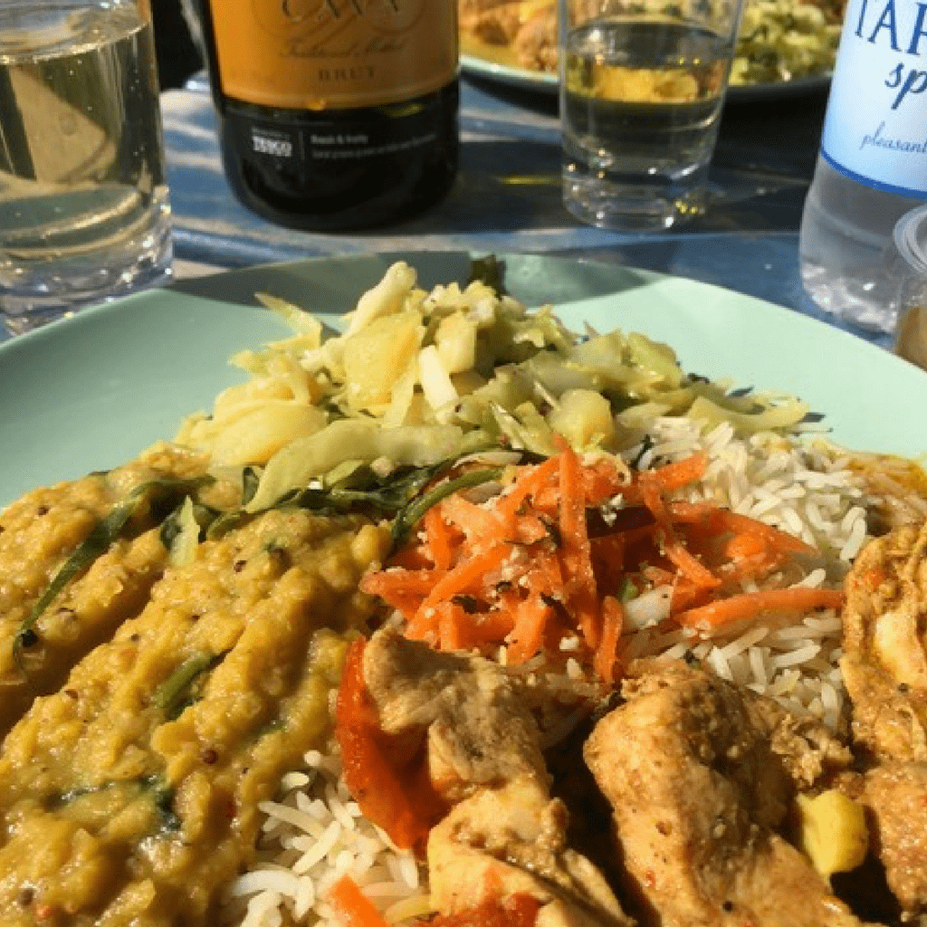 Curry on Barricane Beach