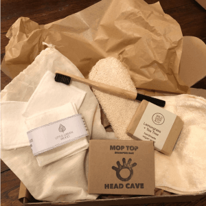 Zero Waste Bathroom Essentials Box