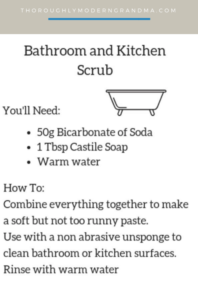 Natural Homemade Cleaning Recipes