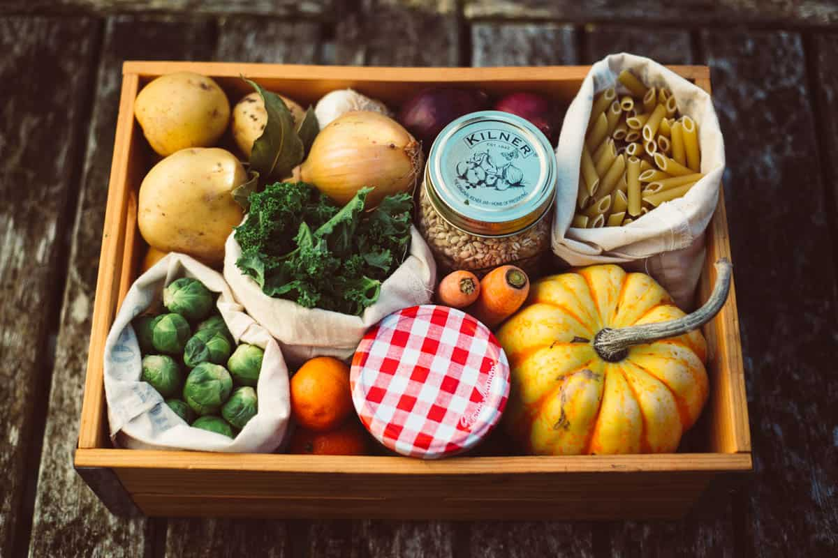 Lowly Food Zero waste Recipe box