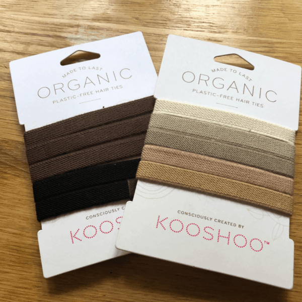 plastic free hair ties