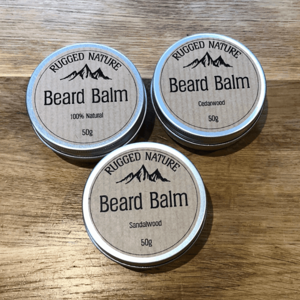 100% Natural Beard Balm