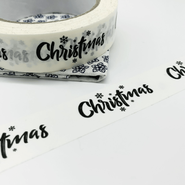 Christmas Kraft Paper Tape