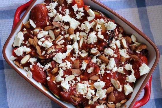 Eggplant and Tomato Bake | Gluten Free | Vegetarian | Thoroughly Nourished Life