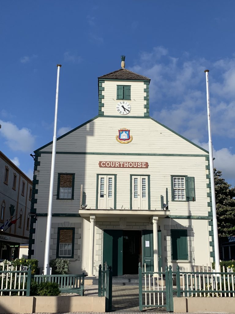 The Courthouse auf St. Maarten