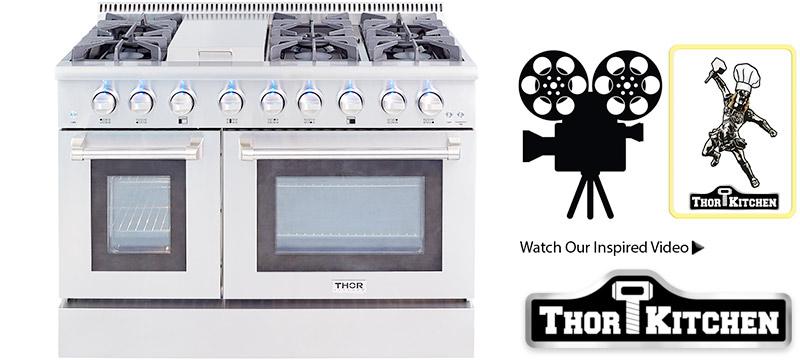 thor kitchen stoves professional