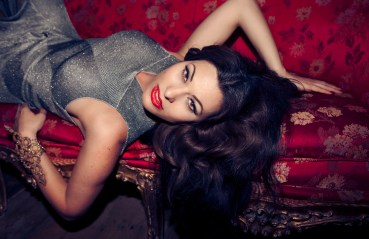immodesty-blaize-interview-thoselondonchicks-photo-luc-coiffait-red-chaise-lounge-grey-sequinned-dress