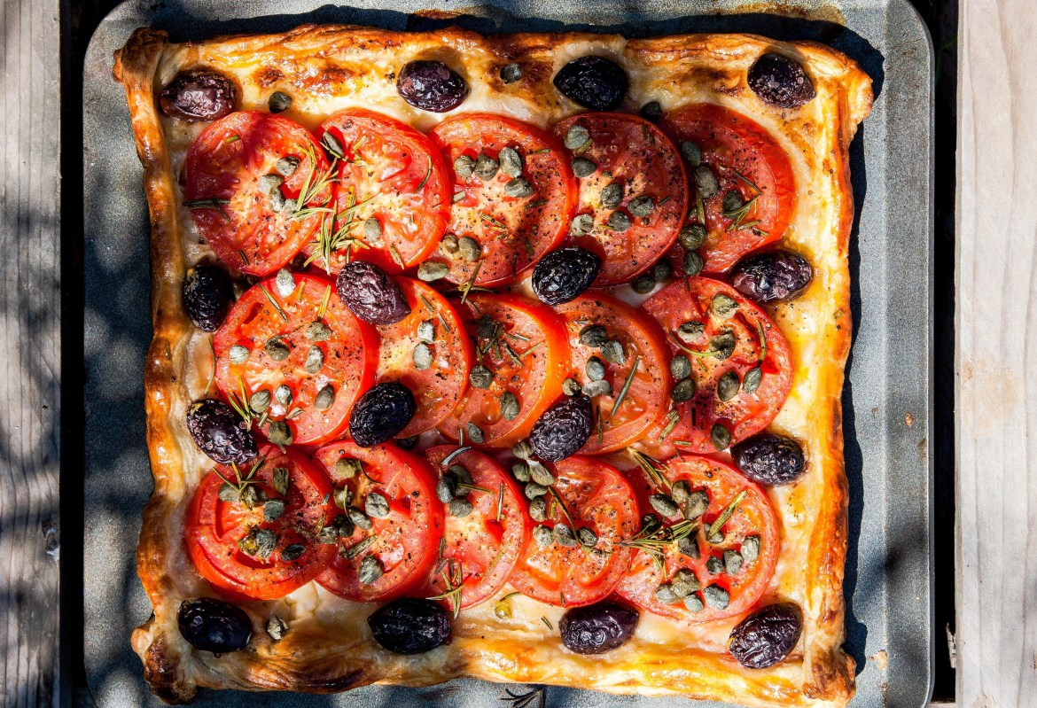 olive-tomato-caper-tart-toni-buxton-photo-vanessa-courtier-thoselondonchicks