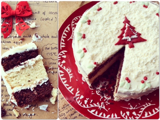 christmas-cake-cream-cheese-frosting