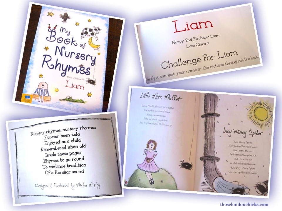 Collage-my-book-of-nursery-rhymes-In-the-Book-thoselondonchicks-review