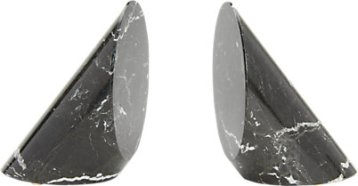 DESIGNS BY MARBLE CRAFTERS Coronet Bookends $135