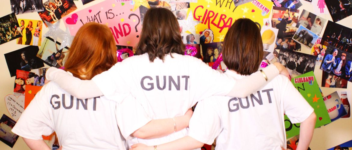 THOSE THREE GIRLS, COMEDY WRITER PERFORMERS, FUNNY WOMEN, FEMALE COMEDY, GIRLBAND, KICKSTARTER, GUNT