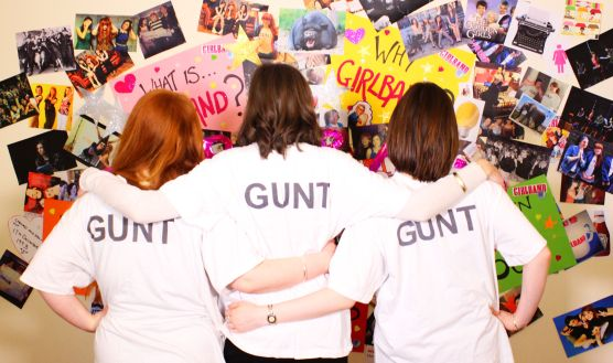 THOSE THREE GIRLS, GIRLBAND, KICKSTARTER, GUNT