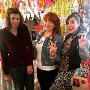 THOSE THREE GIRLS, COMEDY WRITER PERFORMERS, FUNNY WOMEN, FEMALE COMEDY, GIRLBAND