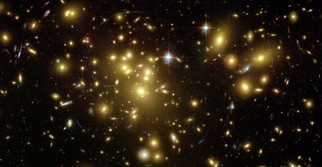 Galaxy Cluster Abell 1689HST ACS WFCH. Ford (JHU)