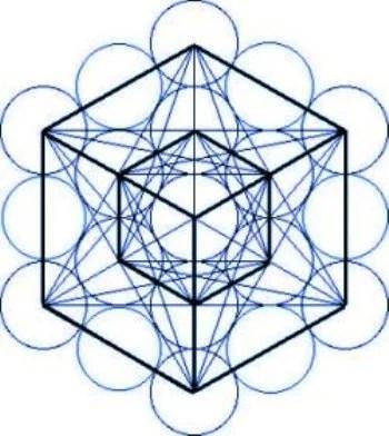 cubodemetatron1 Geometria Sagrada, a Flor da Vida e a Linguagem da Luz.