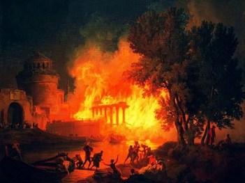 roma-incendio