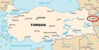 Ararat-Location