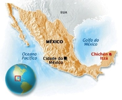 chichen-itzá-localização