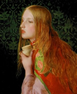 maria-madalena-painting by Frederick Sandys