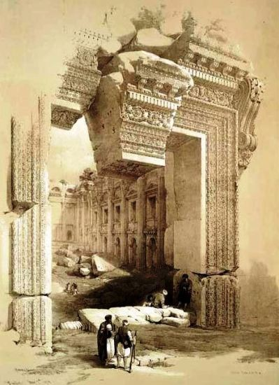 portal-templo-baco-Baalbek.