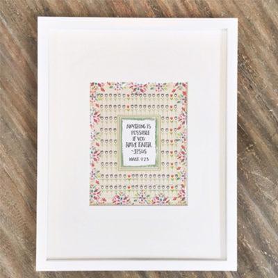 Faith Art Print Framed