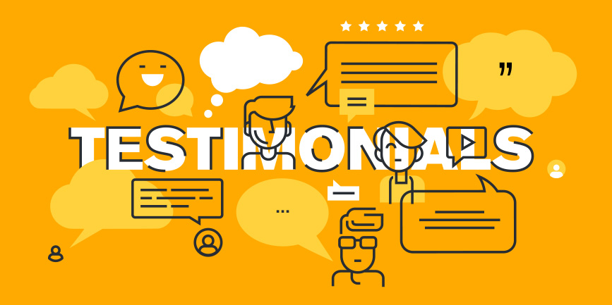 Testimonials and Chat Heads