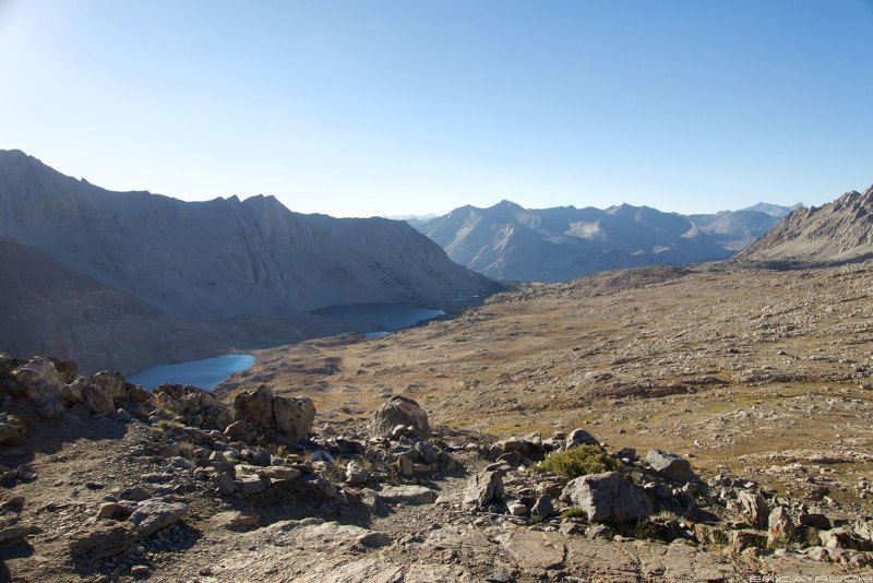 Looking north from Pinchot Pass