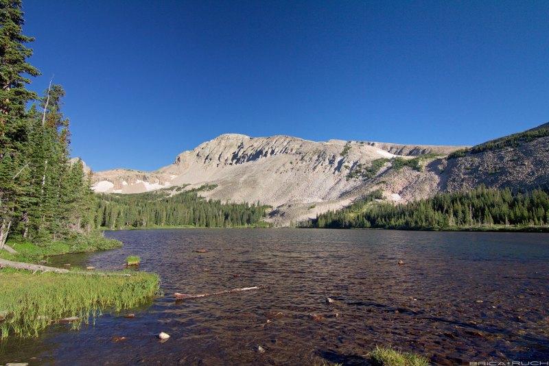 Mount Audobon and Mitchell Lake