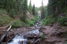 waterfall on Clear Creek