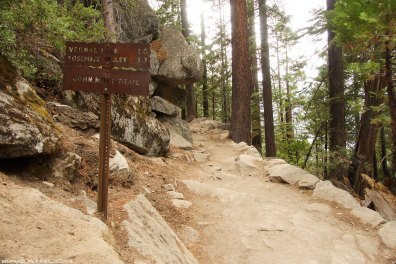 Intersection with the JMT!