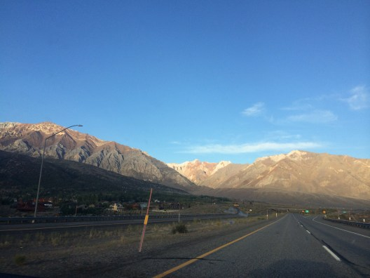 Crappy iPhone photo of the always-lovely 395