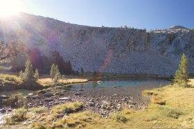 Climb up Donohue Pass