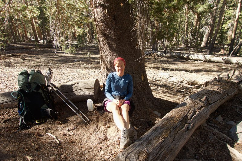 My siesta atop Bear Ridge