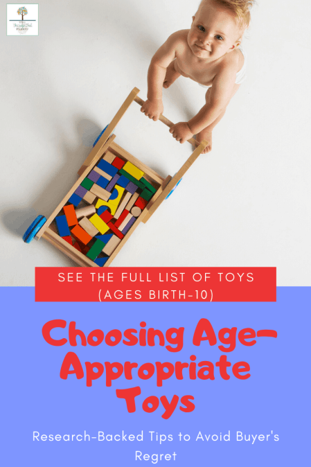 choosing toys for your child