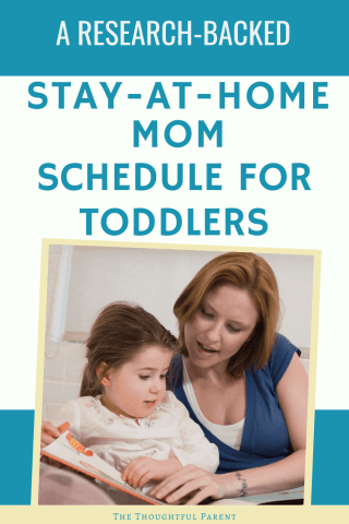 stay-at-home mom schedule for toddlers