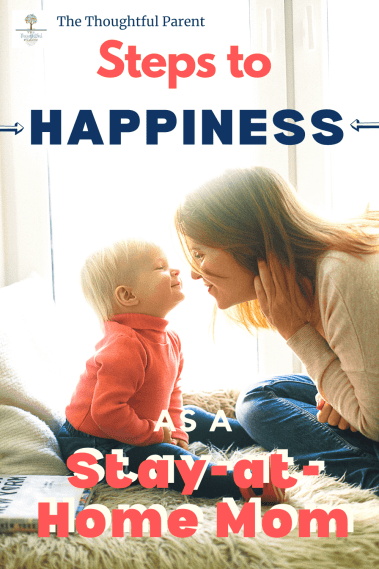 happy stay-at-home mom