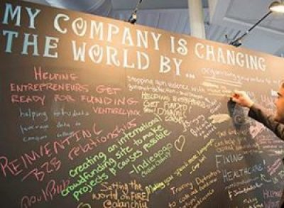 Entrepreneur Chalkboard