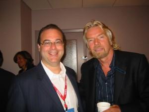 Peter Winick and Richard Branson