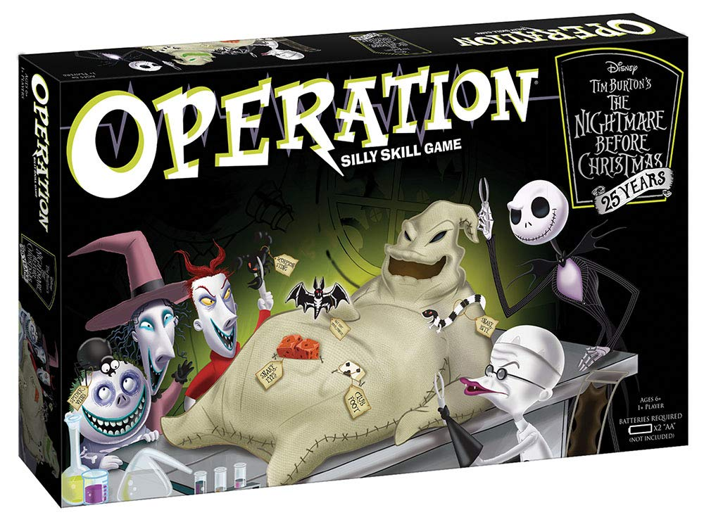 Why You Should Totally Try 'The Nightmare Before Christmas' Version Of Operation Classic Game
