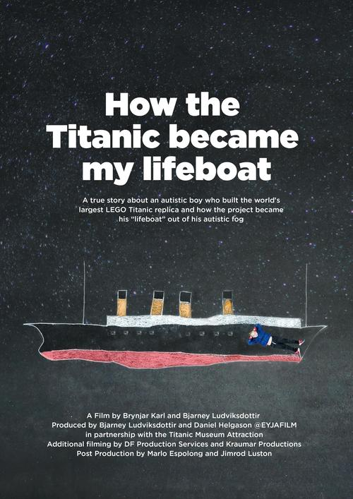 autistic boy builds largest lego replica of titanic