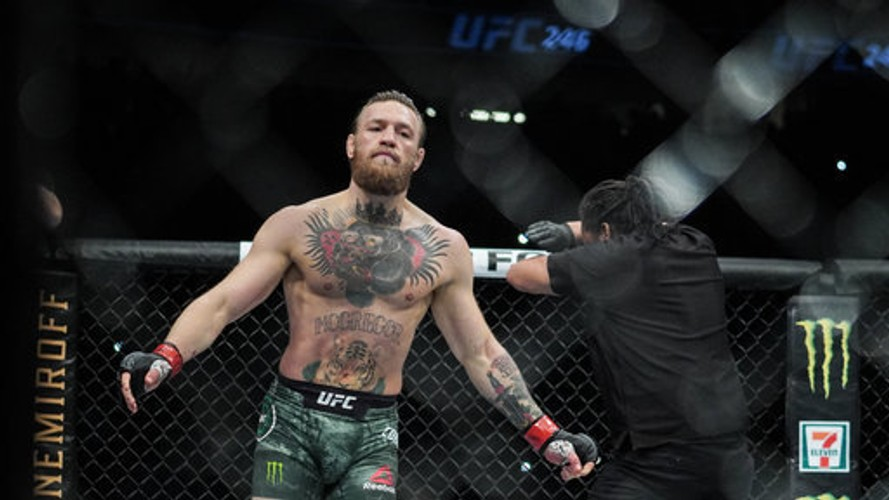 McGregor is set to step into a boxing ring with Pacquiao in the Middle East