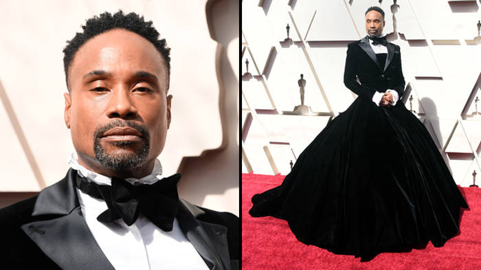 Here's Why Billy Porter Wore A Gown To The Oscars, Not A Tuxedo