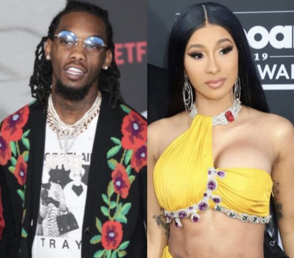 offset buys cardi b a rolls royce truck for her birthday, friends chant