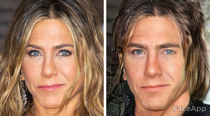 this is what celebrities would look like if they were born as men