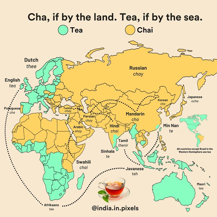 30 unusual maps people shared on this group that might change your perspective on things