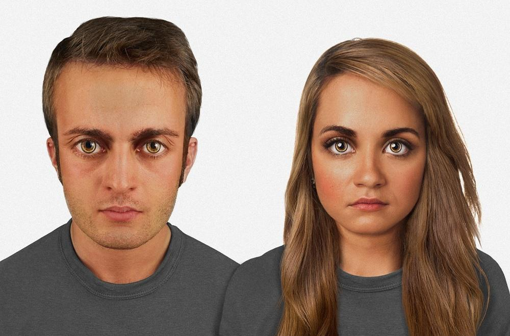 evolution hasn't stopped: this is what the human face might look like in the future