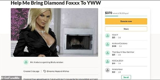 army cadet sets up gofundme page to bring porn star as his date to winter dance